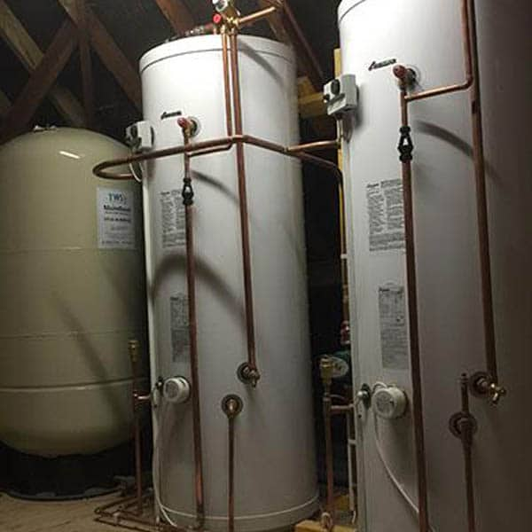 high pressure hot water tanks