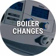 boiler changes glasgow edinburgh scotland